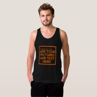 DIY Tank Top - Add pictures and text!