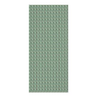 DIY TEMPLATE 1 side blank UNIQUE GRAPHIC PORTFOLIO Rack Card Design