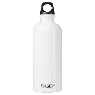 DIY Template easily add photo text Leak-Proof Water Bottle