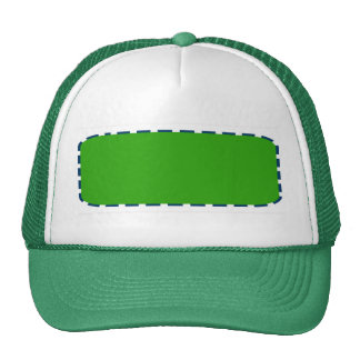 DIY Template easy add color text photo personalize Cap