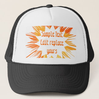 DIY Template: Edit Text Message Greeting Blessing Cap