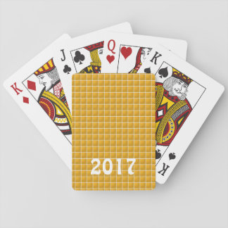 DIY Template edit TEXT to your own newyear Playing Cards