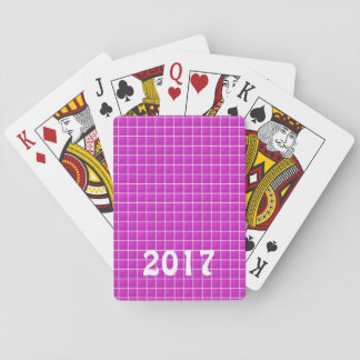 DIY Template edit TEXT to your own newyear Poker Deck