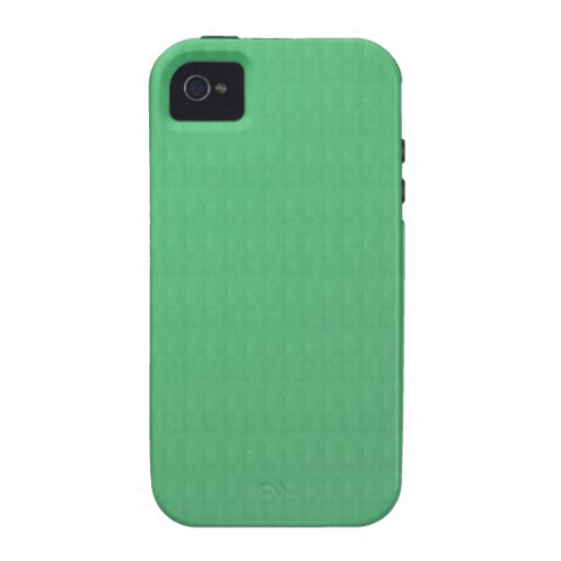DIY Template GREEN Crystal Texture Add IMG TXT fun Case-Mate iPhone 4 Case