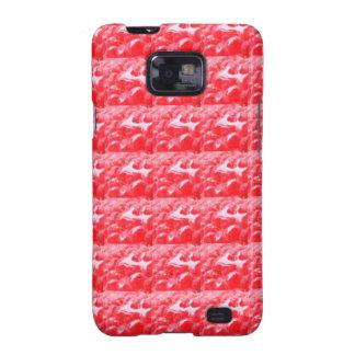 diy template RASPBERRY texture + add TXT IMAGE FUN Samsung Galaxy S2 Cover