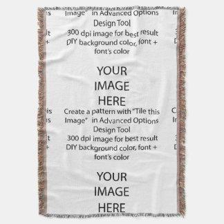 DIY Throw Blankets/DIY background color