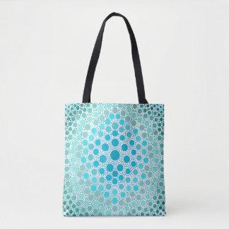 DIY Tie-Dye Style - Light Blue Tote Bag
