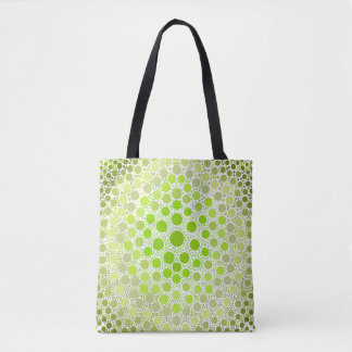 DIY Tie-Dye Style - Light Green Tote Bag