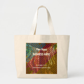 DIY Use TEMPLATE to replace your OWN TEXT Canvas Bag