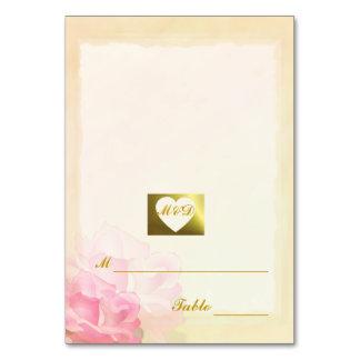 DIY Wedding Place Cards | Ecru Edge Flowers Set Table Cards