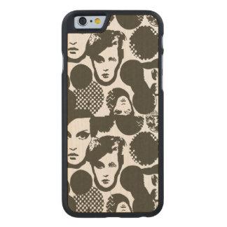 Dizziness Carved® Maple iPhone 6 Slim Case