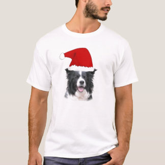 Dizzy Dogz~Border Collie Tee~Christmas T-Shirt