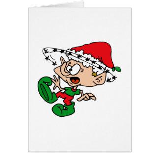 Dizzy elf card