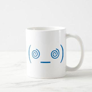Dizzy in Dark Blue Coffee Mug