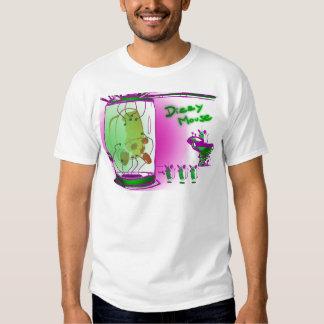 dizzy mouse alien abduction tshirts