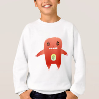 dizzy red rabbit. sweatshirt
