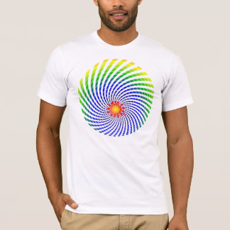 Dizzy Sun Rainbow One Sided Shirt