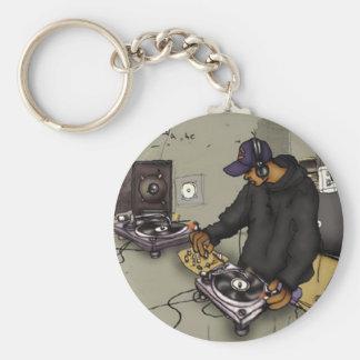 DJ 2 Turntables - Key Chain