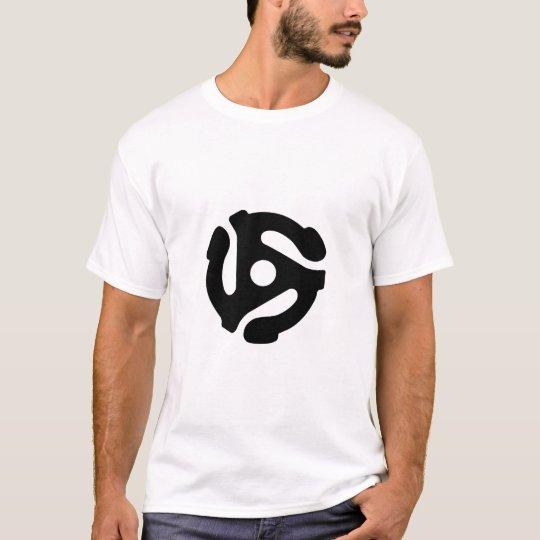 DJ - 45 RPM Black T-Shirt