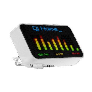 Dj Add Your Name Personal Equalizer Bar EQ Portable Speaker