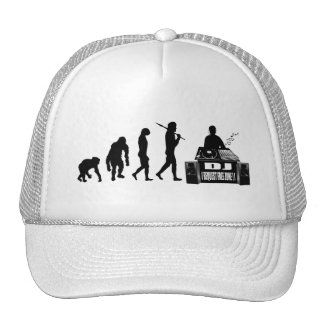 DJ and MC's vinyl lovers gear Trucker Hats