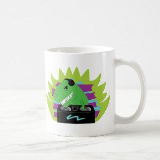 Dj-asaurus Rex Coffee Mug