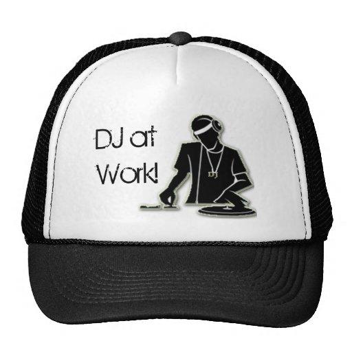 DJ at Work! Mesh Hat