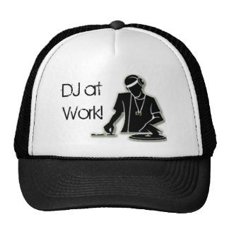 DJ at Work Mesh Hat