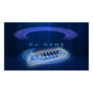 Dj Blue Pack Of Standard Business Cards