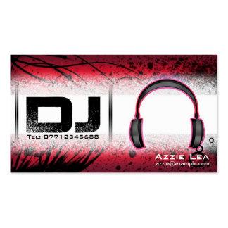 DJ Business Card - customizable