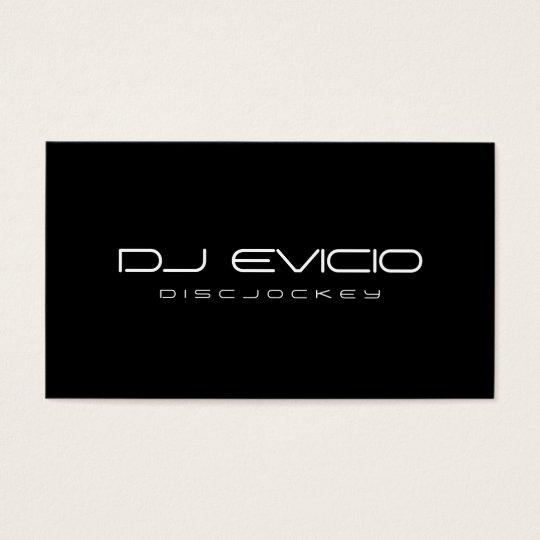 DJ - Business Cards