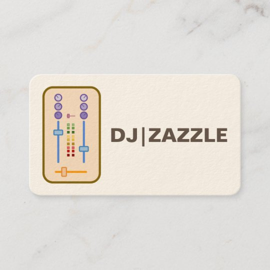 Farmer business card zazzle dj business cards 2016 reheart Image collections
