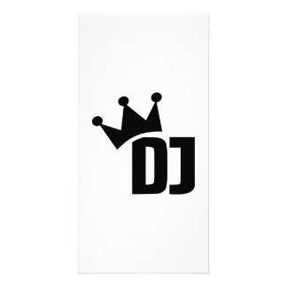 DJ champion winner Personalized Photo Card