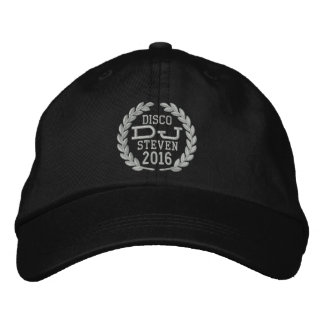 DJ Classic Laurels to Personalize Name Event Year! Baseball Cap