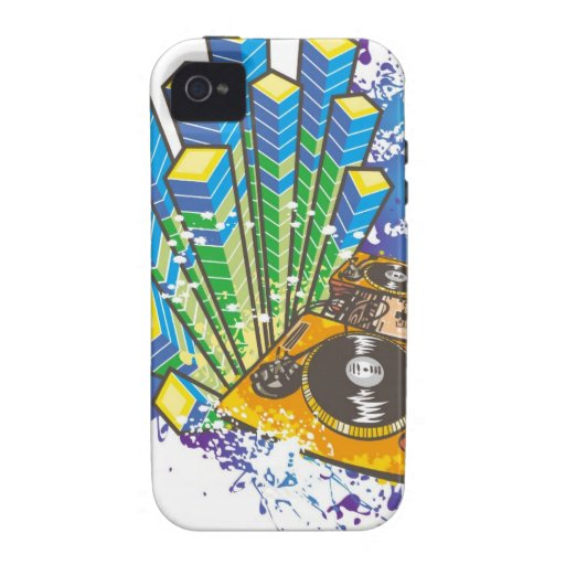 DJ Control Panel Case-Mate iPhone 4 Covers