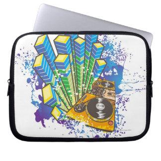 DJ Control Panel Laptop Computer Sleeves