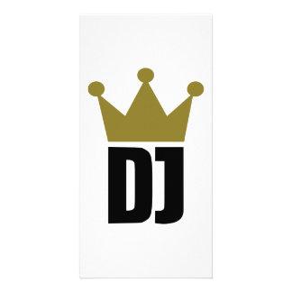 Dj crown champion photo card