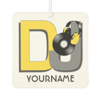 DJ custom car air freshner Car Air Freshener
