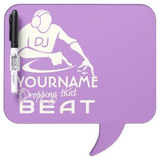 DJ custom message board