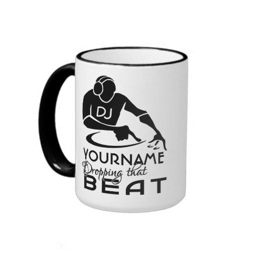 DJ custom mug - choose style