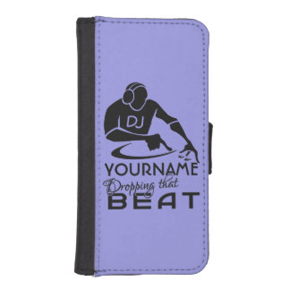 DJ custom name & color wallet cases