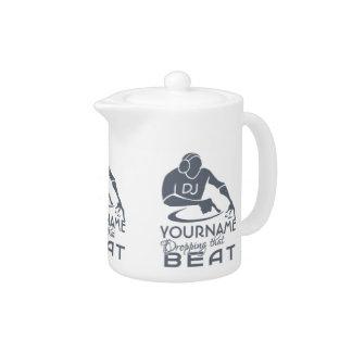 DJ custom teapot