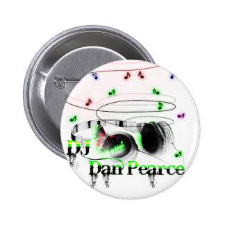 DJ DAN Pearce Pins