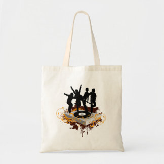 DJ Dancers Budget Tote Bag