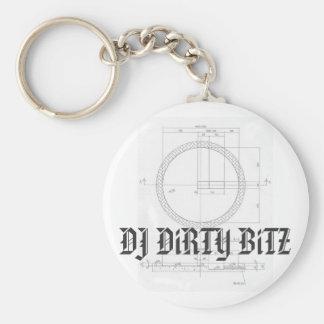 DJ DiRTY BiTZ Key Chain