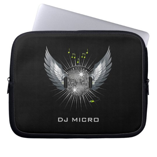 """DJ Disco Laptop Sleeve/Bag [starting from 10""""] Laptop"""