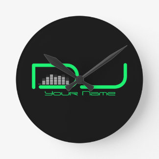 DJ Equalizer Wall Clock