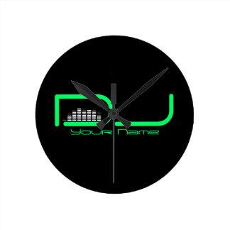DJ Equalizer Wall Clock