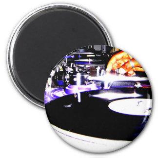 DJ Equipment 6 Cm Round Magnet