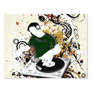 dj free vector graphic card